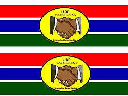 UDP Bumper Sticker